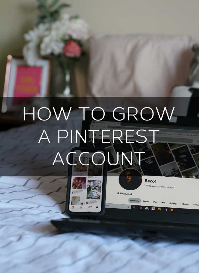 How to grow your Pinterest account. An easy guide detailing how I hit 3 million monthly unique viewers on Pinterest.