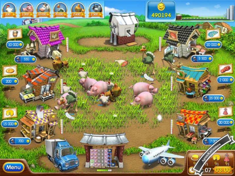 Farm Frenzy 2 Screenshots