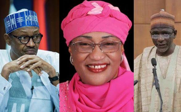 buhari 3 ministers spiritual attack