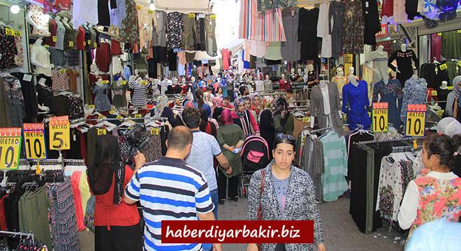 Diyarbakır'da bayram hareketliliği başladı