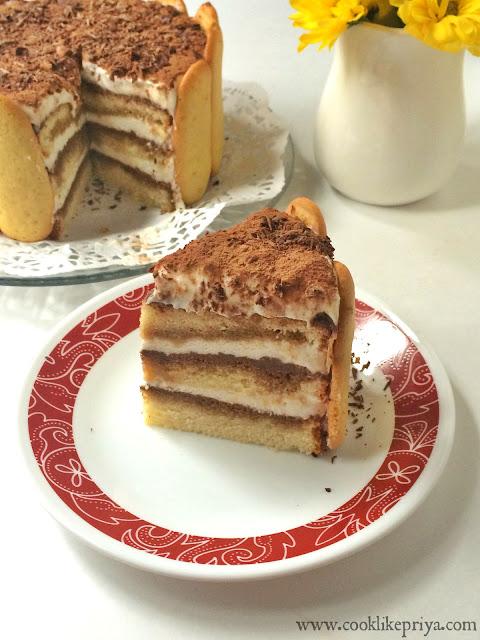 Tiramisu Celebration cake recipe