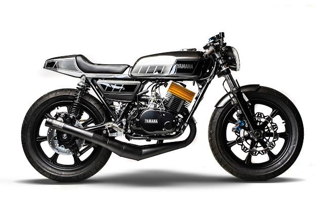 Yamaha RD400 By MotoRelic Hell Kustom