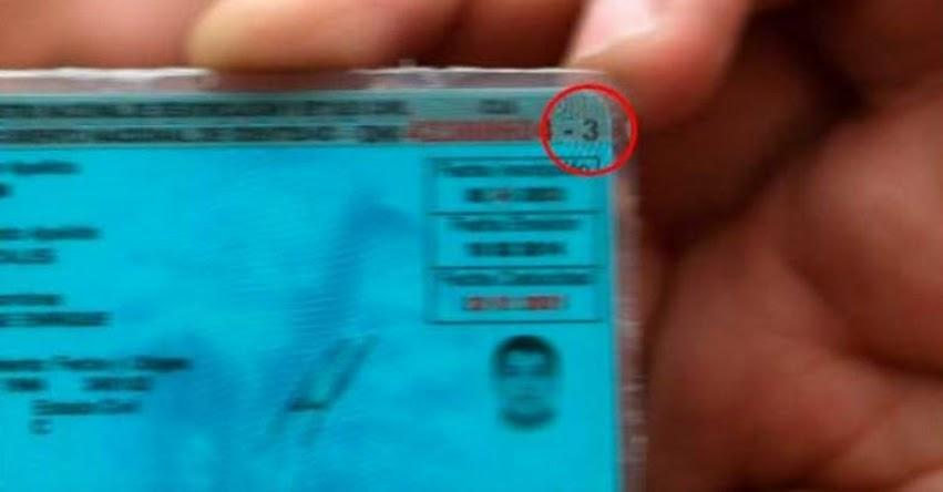 DNI: Sepa qué significa este número que aparece a un lado del Documento Nacional de Identidad - RENIEC - www.reniec.gob.pe