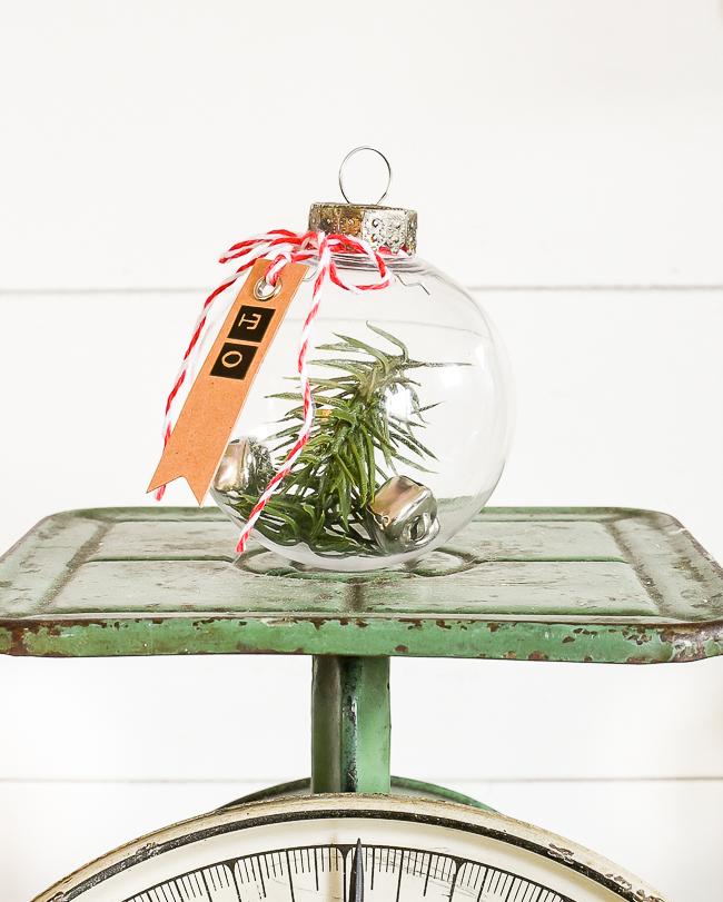 Easy DIY Dollar Tree ornament gift tags
