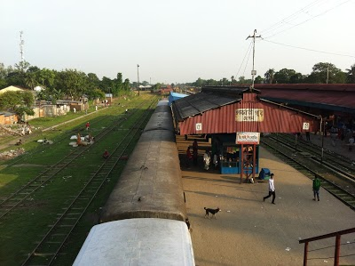 Santahar railway Junction