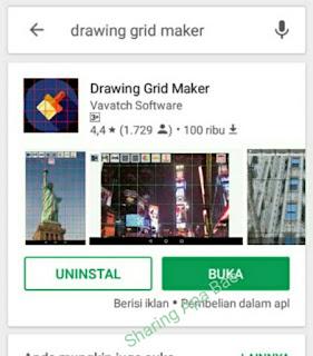 3 Aplikasi untuk membuat grid / skala pada gambar di hp Android.