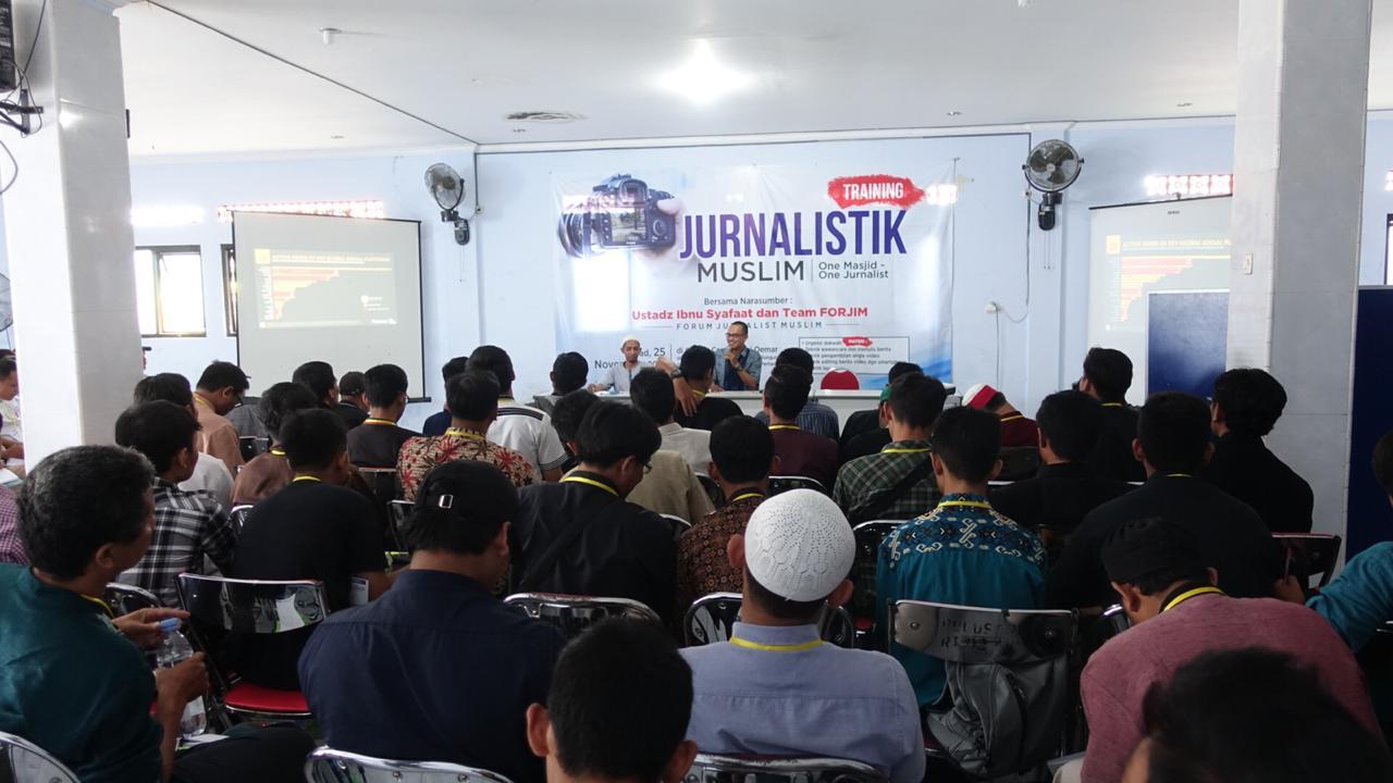 Lawan Hoax, Forjim Gelar Pelatihan Jurnalistik di Jawa Tengah