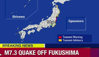 Tsunami Warning Follows Earthquake Off Japan's Coast