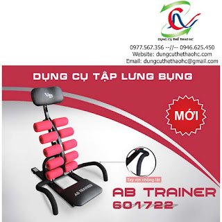 Máy tập cơ bụng AB Trainer 601722