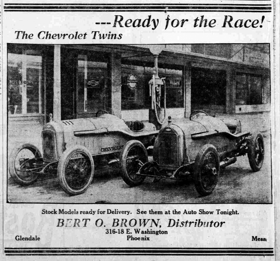 History Adventuring: Auto racing in old-time Phoenix - 1919