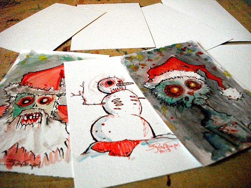 Kitsuneverse: [Zombies] Say Merry Christmas with some Rotting Flesh