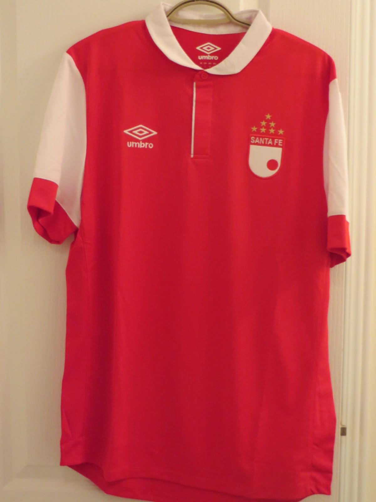 4686c63f1 My Umbro Football Jerseys Collection  Independiente Santa Fe 2014 ...