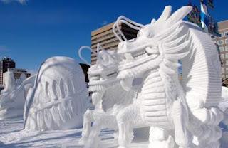 Menikmati Salju di Jepang