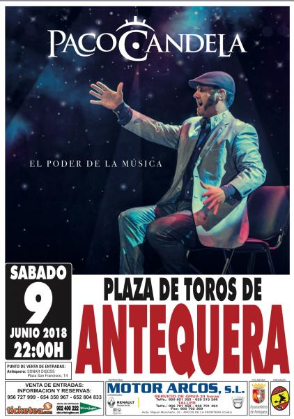 Concierto de Paco Candela en Antequera