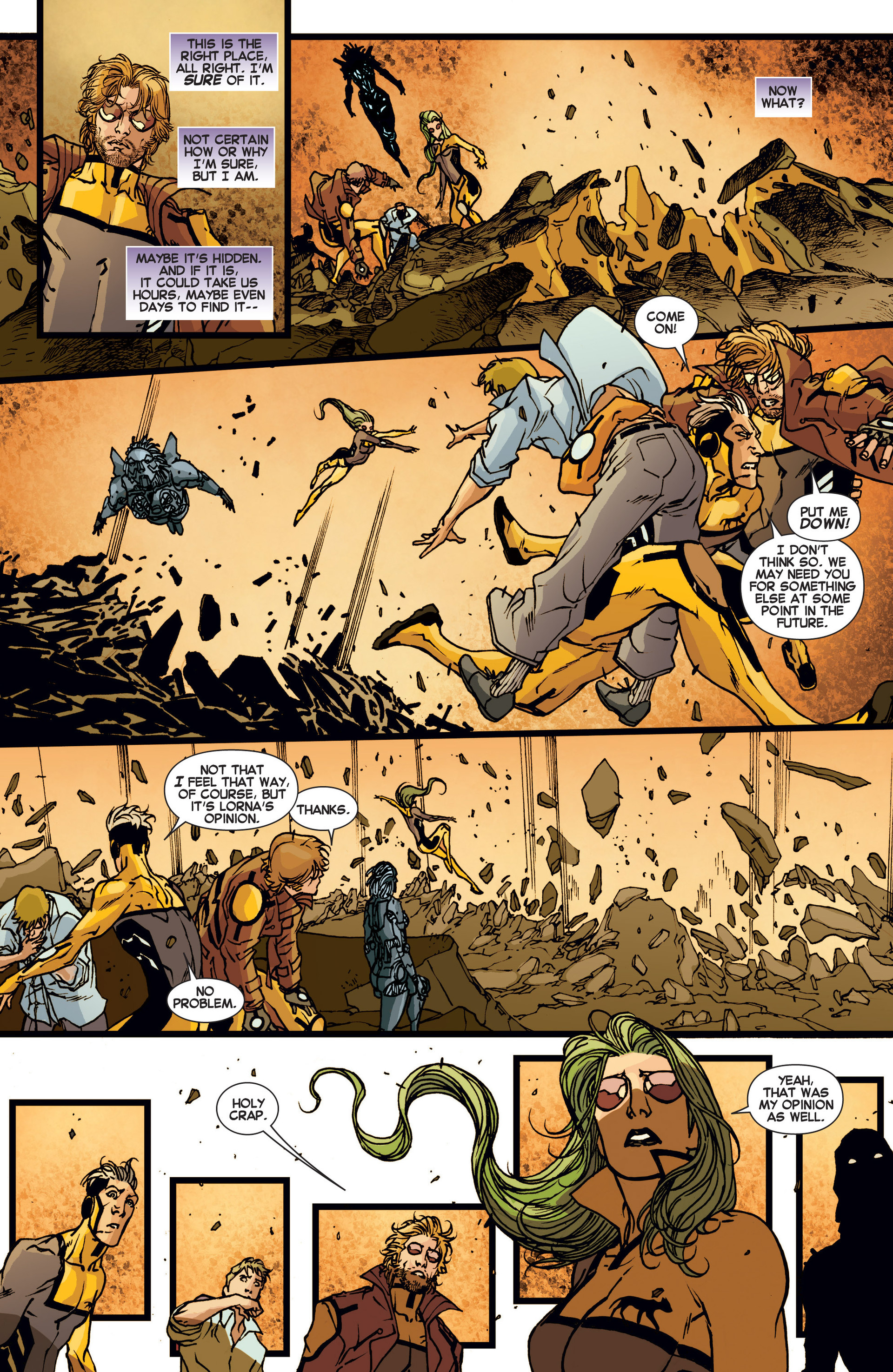 Read online All-New X-Factor comic -  Issue #6 - 11