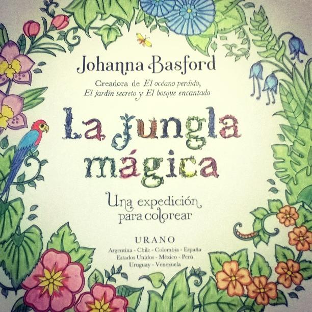 Sol de echesortu rese a la jungla m gica johanna basford for El jardin secreto johanna basford