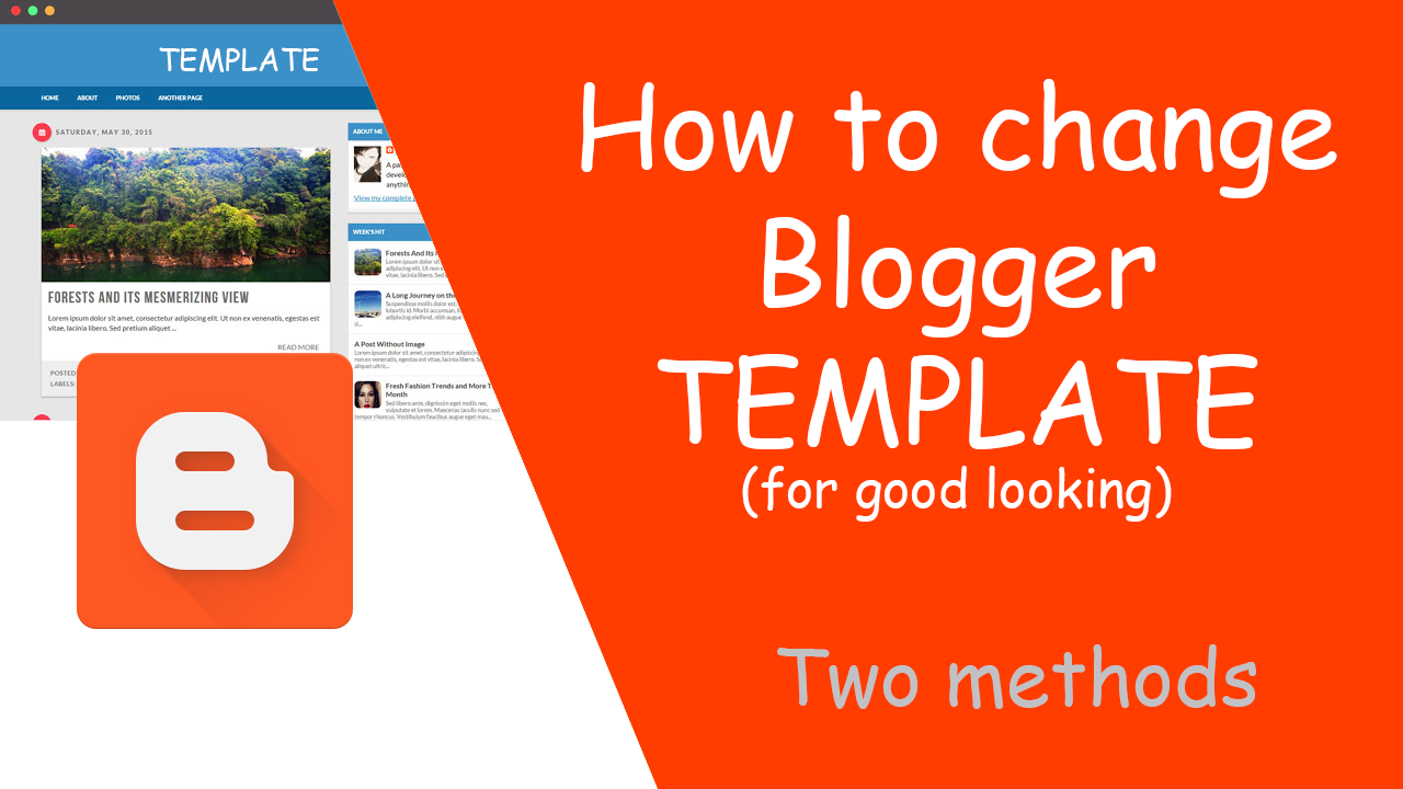 how to change template in blogger part 2 techtubetn