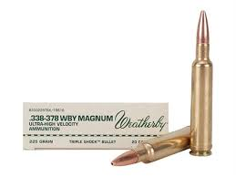 Ammo And Weapons Municija I Oruzje 338 378 Weatherby Magnum