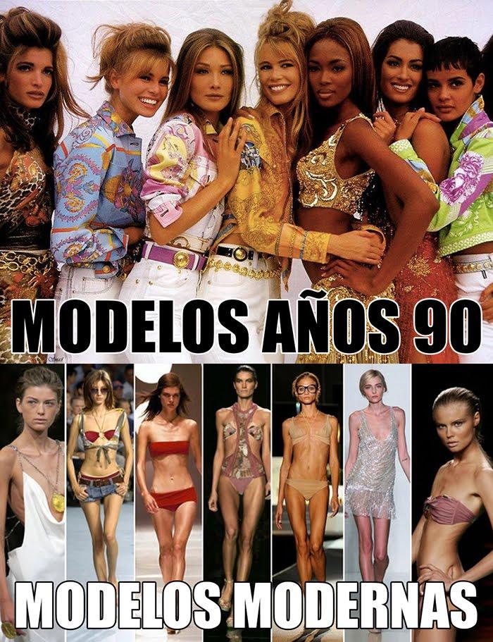 modelos de los 90