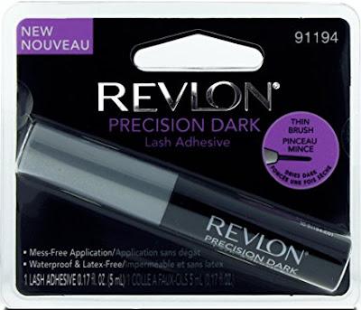 best latex free dark false eyelash glue adhesive