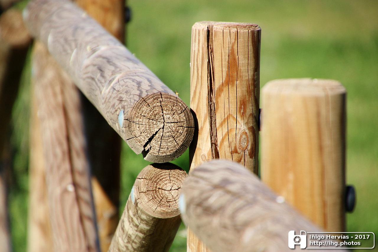 El blog de hayawata cercado de madera - Cercado de madera ...