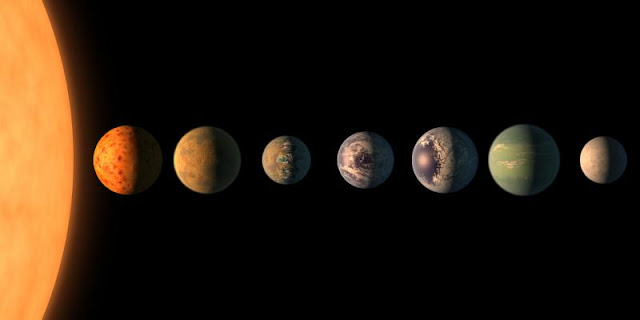 Could Trappist-1's seven earth-like planets have gas giant siblings?