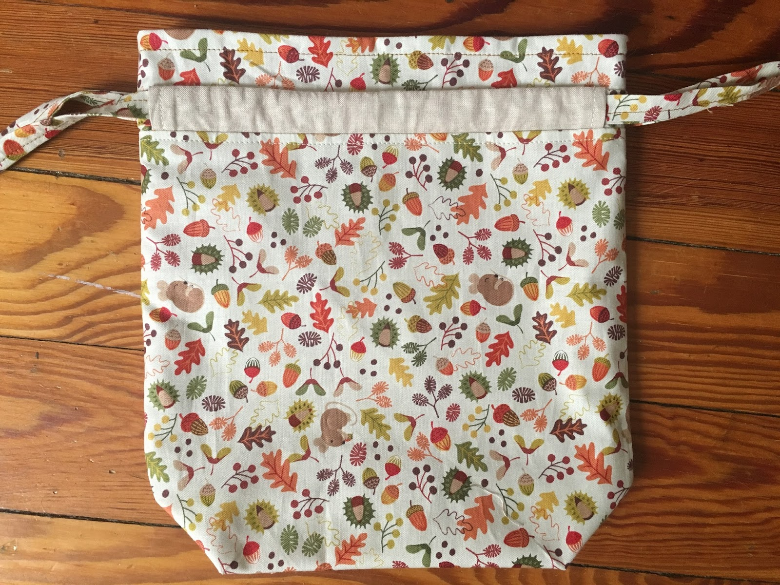 GMHN Quilts by Penny Doucette: Knitting Project Bag or Sock Sack ...