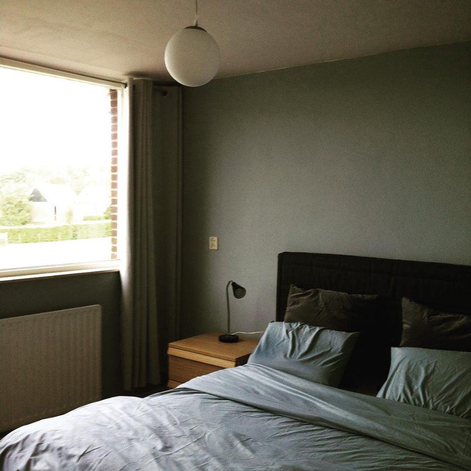 Creatief met een klein budget herfstige kleuren en ons huis - Slaapkamer jaar ...