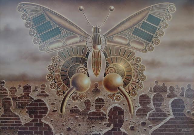 Gervasio Gallardo pintura cuadro surrealismo