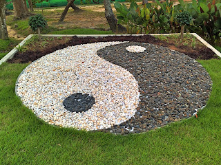 Yin and Yang, Tao Rock Garden by Kyle Pearce