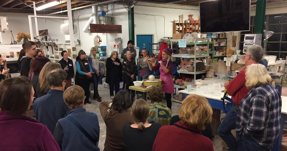 Recap: December Clay Club at Odyssey Clayworks in Asheville