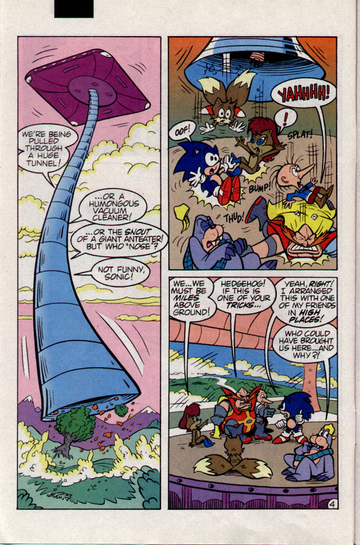 Read online Sonic The Hedgehog comic -  Issue #23 - 5