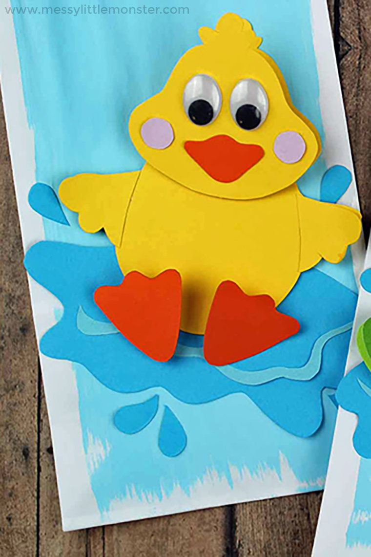 5 little ducks went swimming one day craft or activity