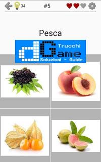 Soluzioni Frutti, verdure e noce livello 5