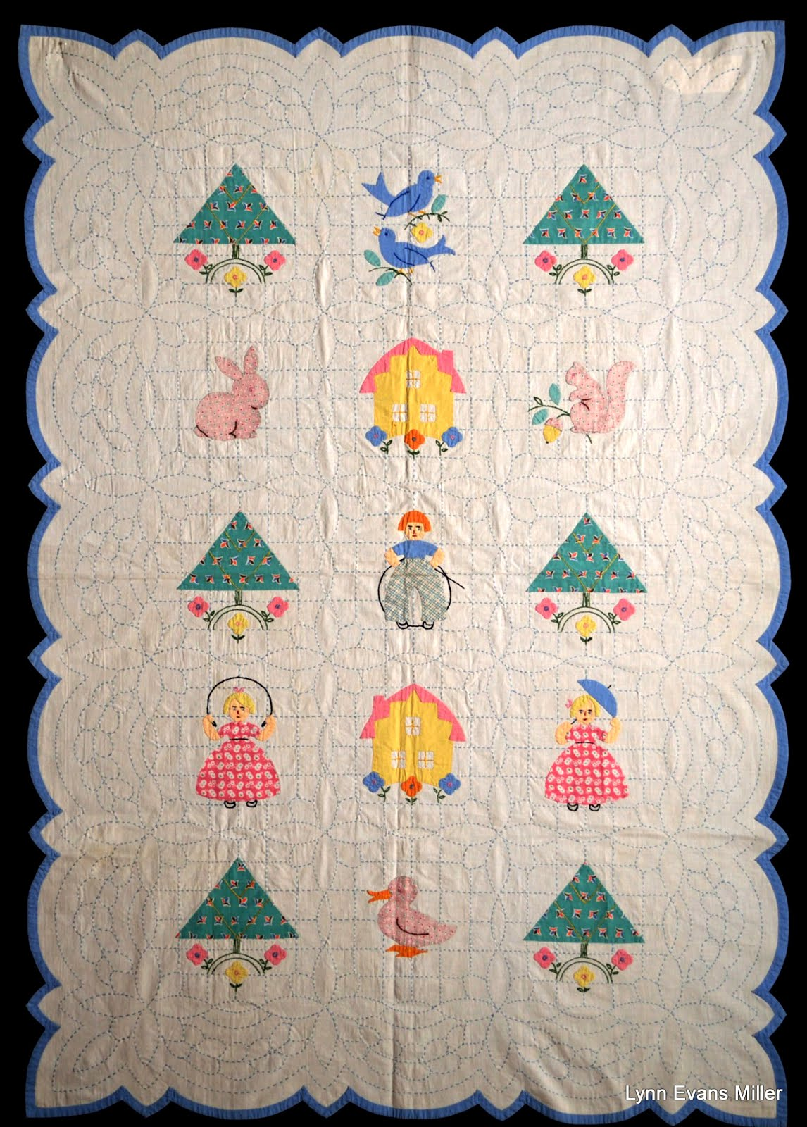 Quilts Vintage And Antique Paragon Crib Quilt
