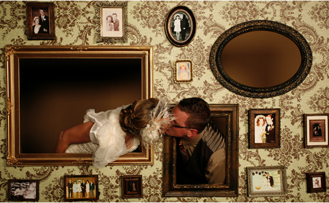10 Creative Ways to Add Frames to Your Wedding | The ...