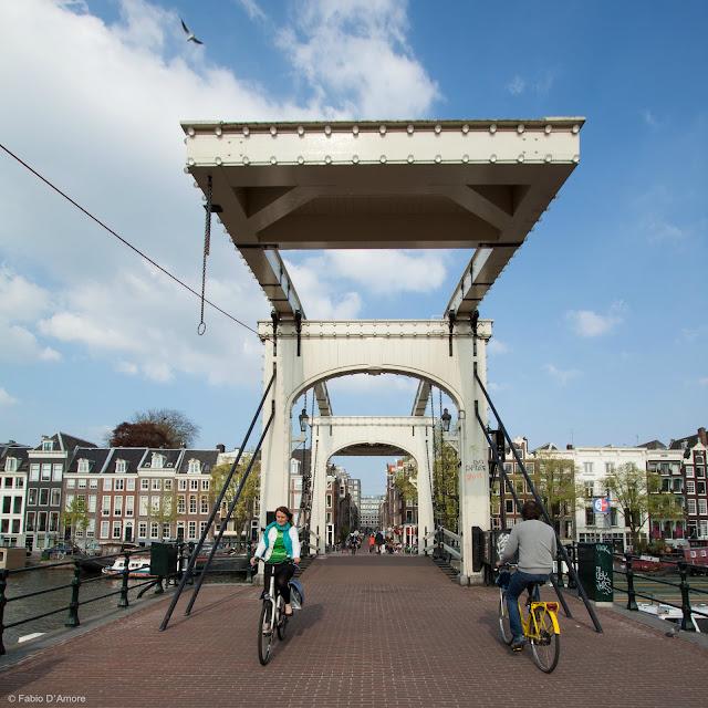 Ponte mobile ad Amsterdam