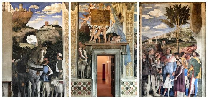 La meravigliosa camera degli sposi di andrea mantegna a for Andrea mantegna camera degli sposi