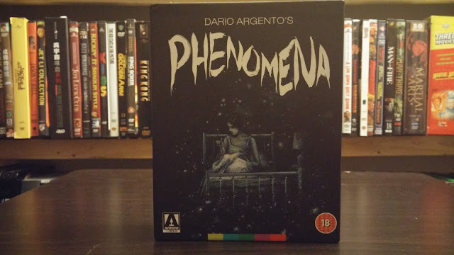 The beautiful Phenomena blu-ray from the U.K.