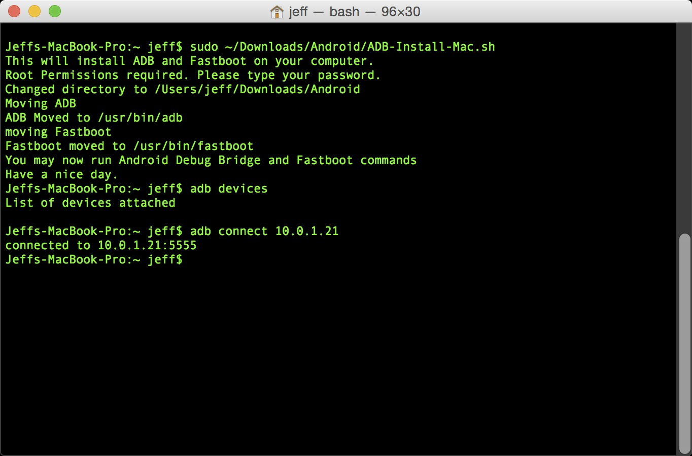 Introduction and Install ADB and Fastboot (Windows, Mac OS X