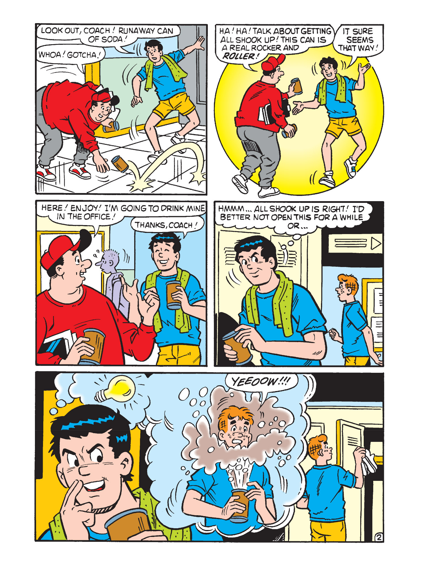 Read online Archie's Funhouse Double Digest comic -  Issue #3 - 30