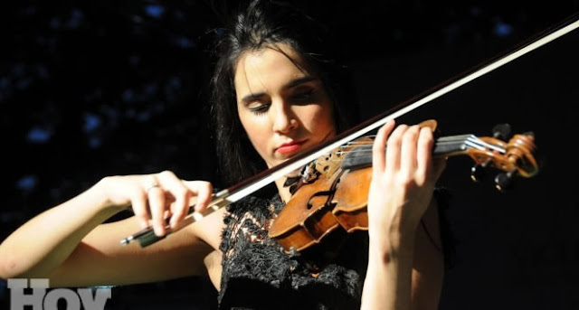 Violinista Cristiana Es Elegida Como Una De Los 10 Mejores Músicos De Gran Bretaña