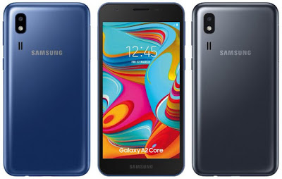 Samsung Galaxy A2 Core (Android Go-based) launched in India at Rs. 5,290