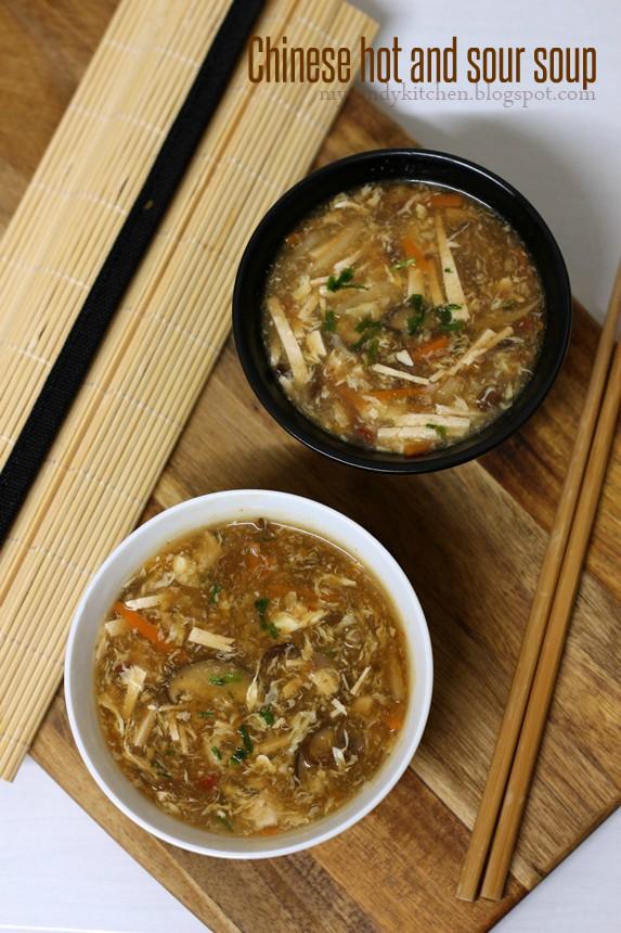 Китайска лютиво-кисела супа