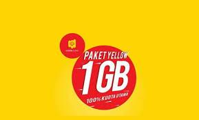 Cara Kode Paket Internet Im3 Yellow 1GB