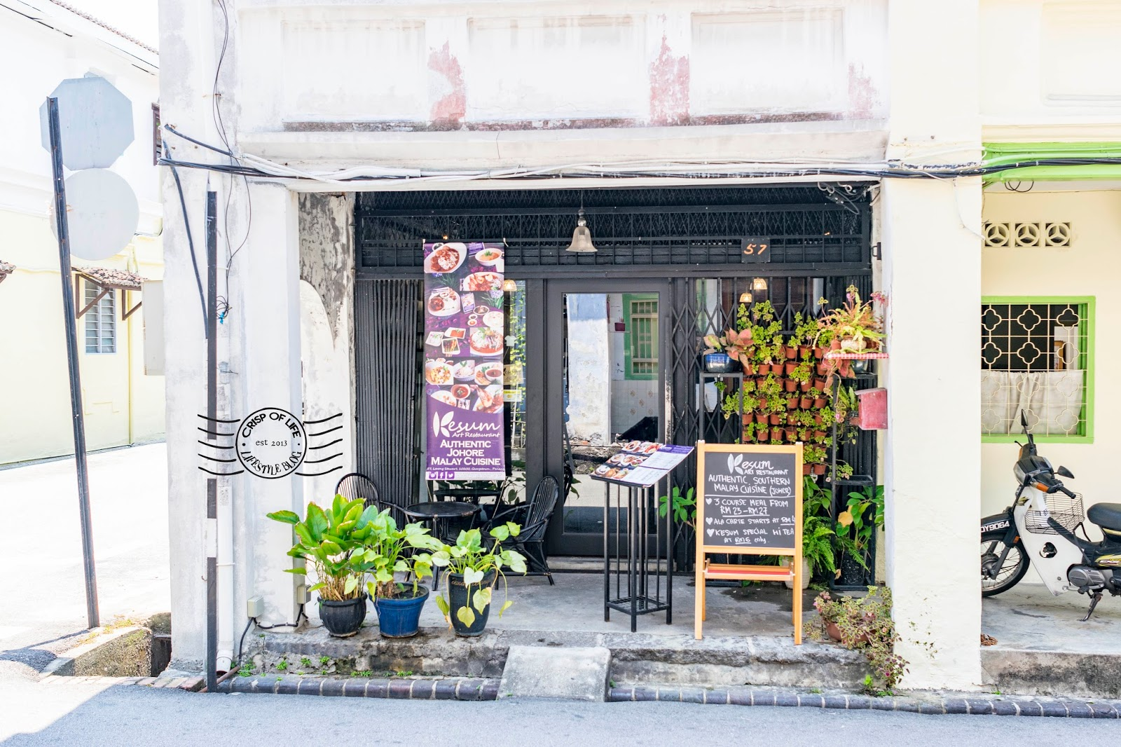 Johor Cuisine Penang Kesum Art Restaurant Stewart Lane