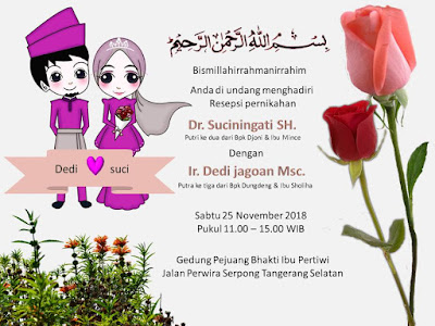 Download undangan pernikahan islami format powerpoint