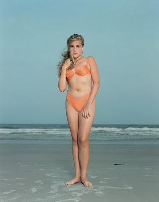 Rineke Dijkstra - Hilton Head Island,1992, série the beach portraits.