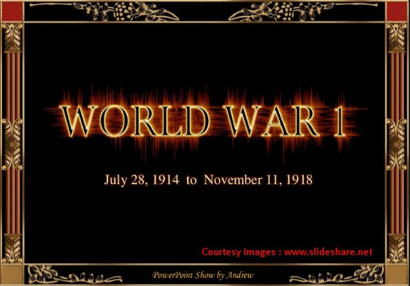 20 Fakta Menarik Tentang Perang Dunia 1