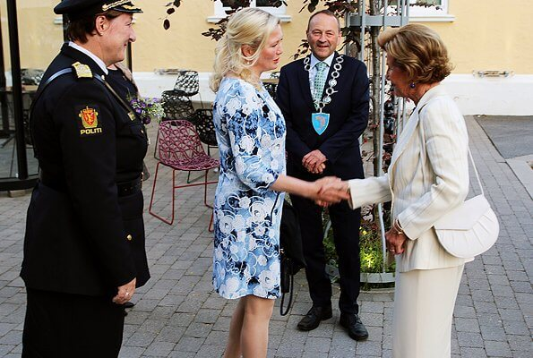Queen Sonja attended the official opening of the Lofoten International Chamber Music Festival at Lofoten Kulturhus in Svolvær